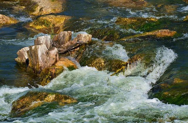 Ismaning - Isar Rapids Detail