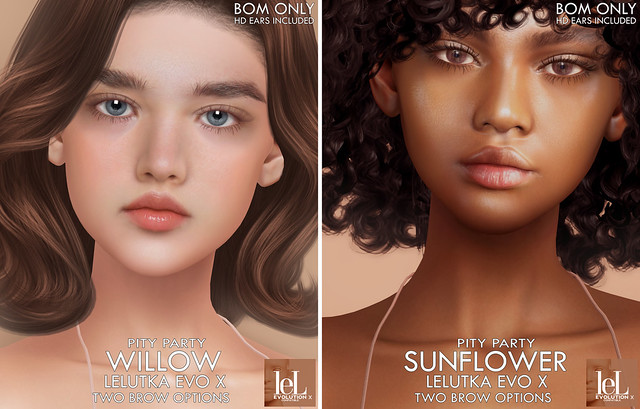 [ Pity Party ] Willow and Sunflower Lel Evo X @ Vintage Fair and GIVEAWAY