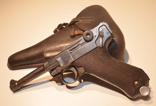 Mauser P-08 Luger of Pistool, Automatisch, Nr. 1