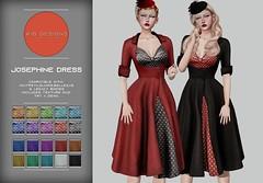 KiB Designs - Josephine Dress @VINTAGE FAIR 2021 - 11th/21st June