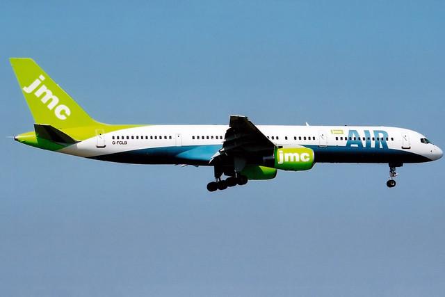 JMC Airlines | Boeing 757-200 | G-FCLB | London Gatwick