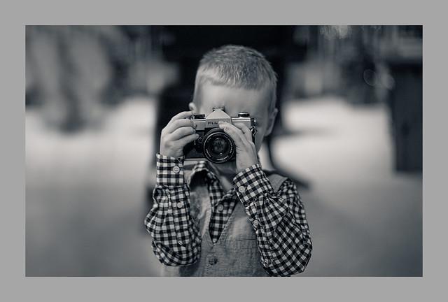 ... camera shy ...