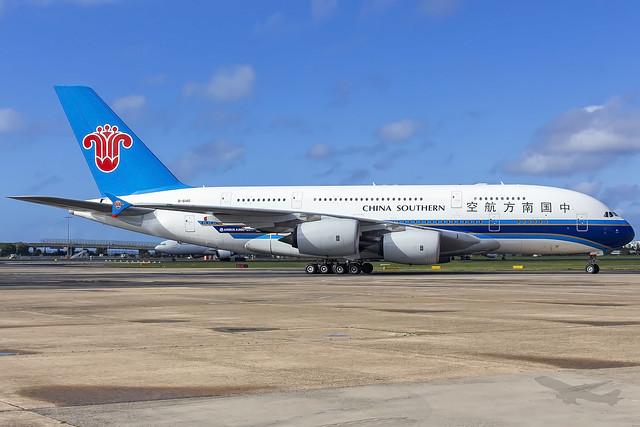 China Southern Airbus A380-841 CZ325/CSN325 SYD-YSSY -1822