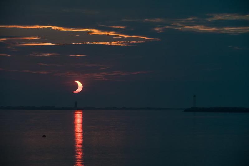 Partial Solar Eclipse  (NHQ202106100005)