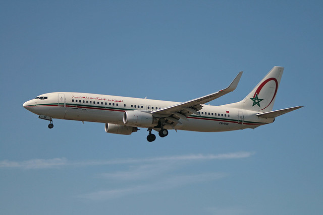 CN-ROE Boeing B.737-8B6 Royal Air Maroc