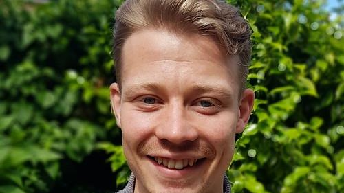 Luke Walmsley, Chancellor's Prize winner 2021