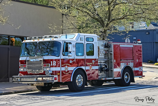 Providence Rhode Island Engine 12