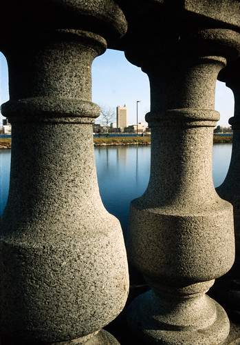 Balusters on Charles River Esplanade