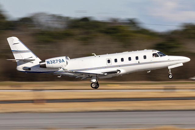 N327GA - IAI Gulfstream G100 - KPDK - 22 FEB 2021
