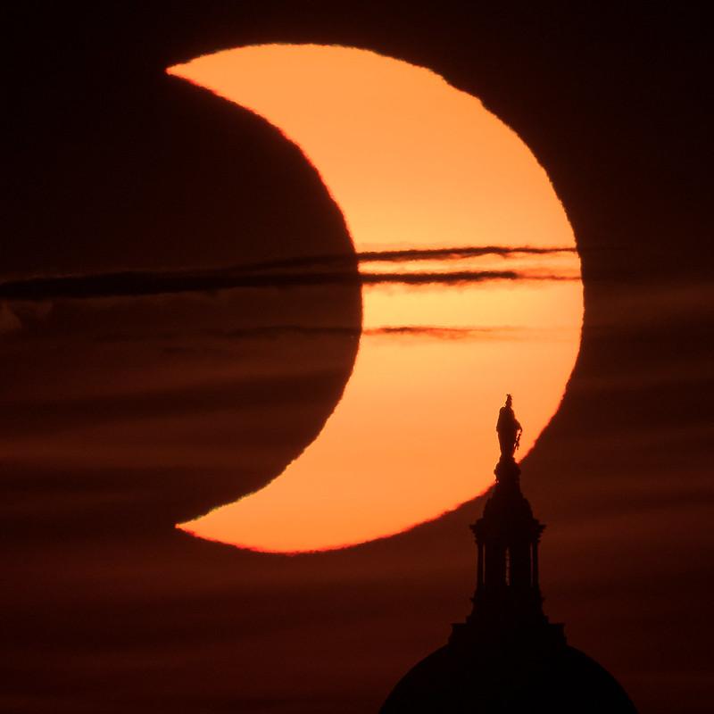 Partial Solar Eclipse (NHQ202106100010)