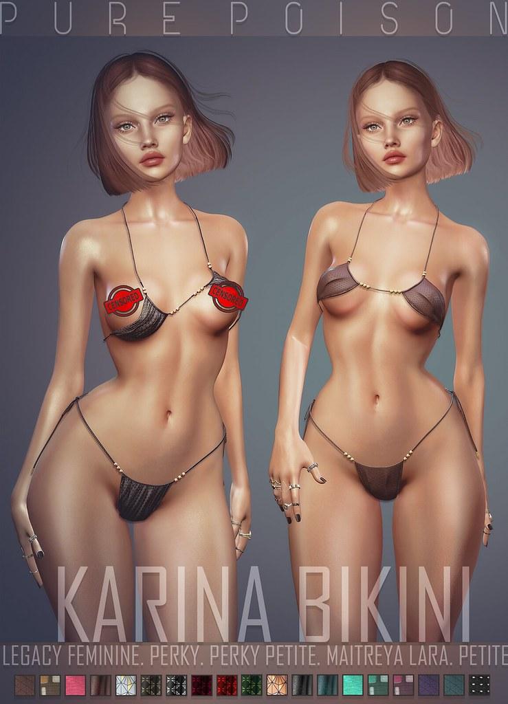 Pure Poison - Karina Bikini - FaMESHed X