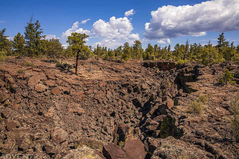 Along the Lava Trench
