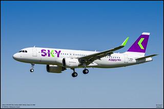airbus A320 NEO Sky Airlines (F-WWDA) (MSN 10226) Future CC-DBE