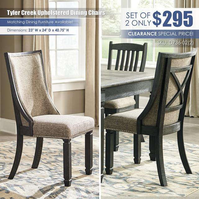 Tyler Creek Upholstered Dining Chairs_D736-02-ALT_June2021