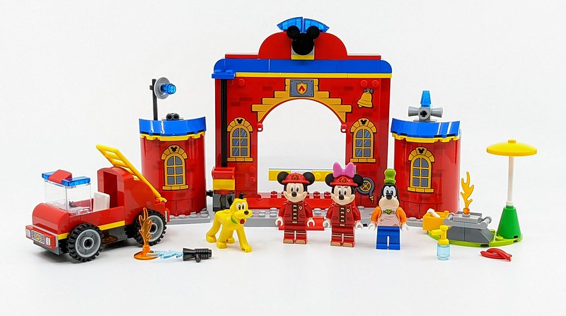 10776: Mickey & Friends Fire Truck & Station Set Review