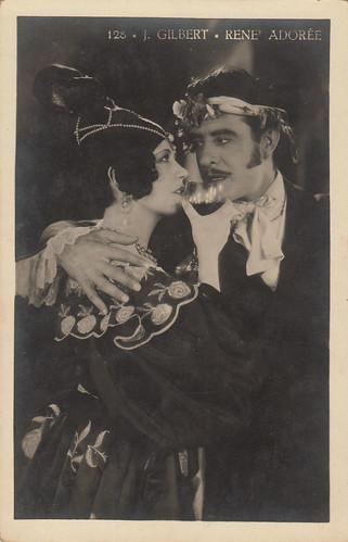 Renée Adorée and John Gilbert in La Boheme (1926)