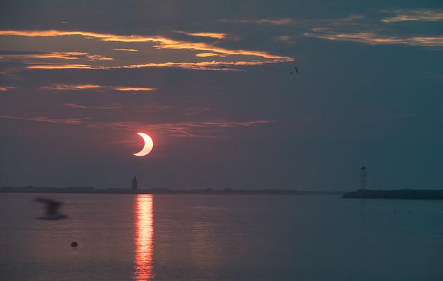 Partial Solar Eclipse  (NHQ202106100006)