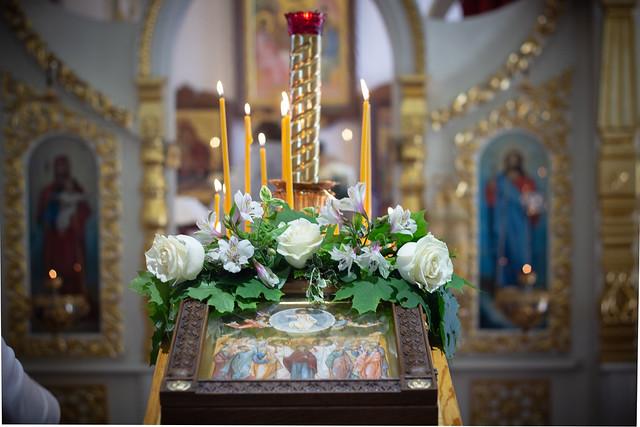 10 июня 2021 года. Божественная литургия в праздник Вознесения Господня.