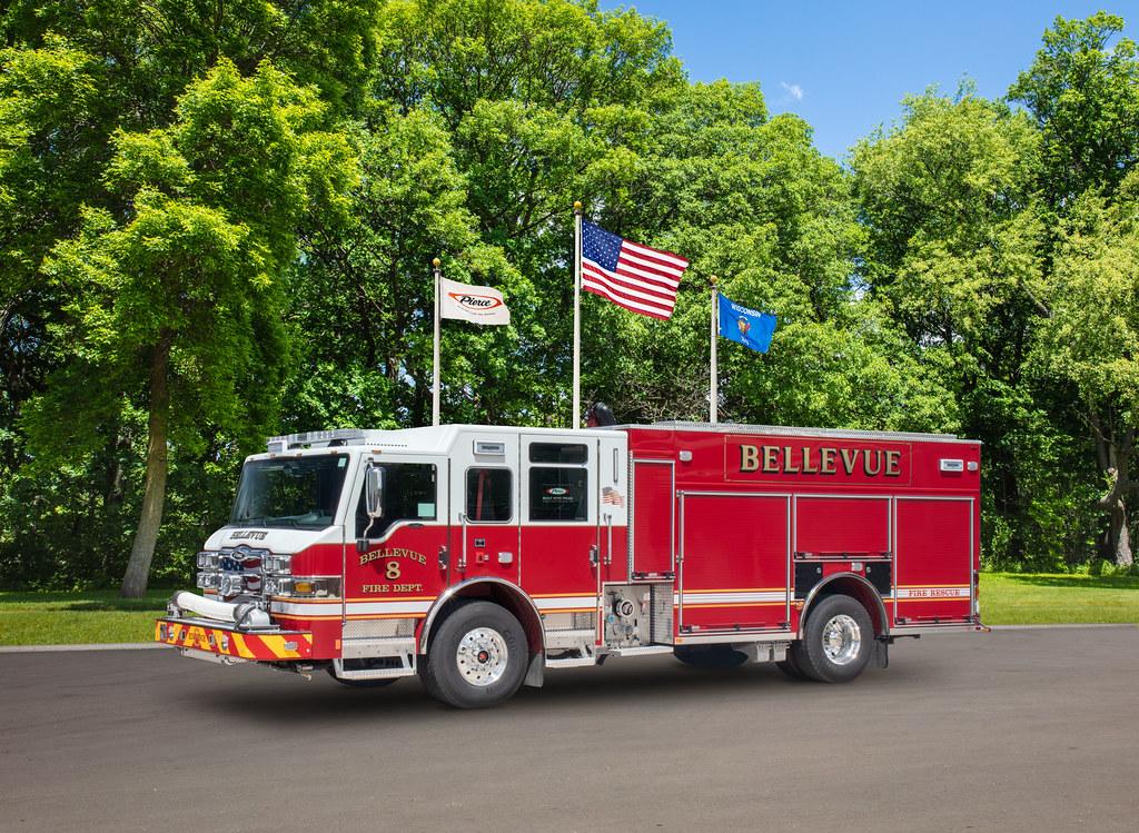 Pierce, Bellevue Fire Department, OH, 35590-1