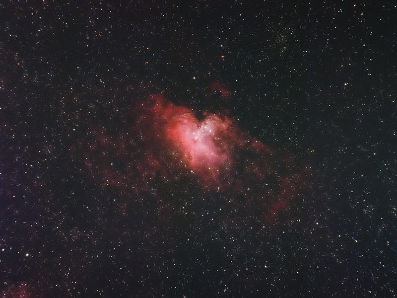 M16 わし星雲 (2021/6/9 23:01)