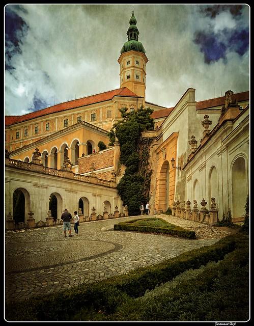 Mikulov chateau_South Moravian Region_Czech Republic