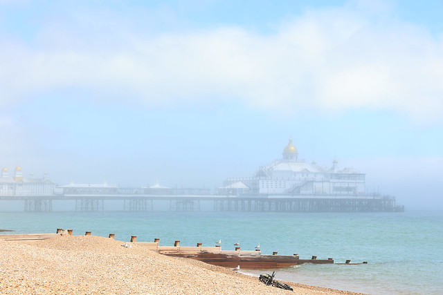 A foggy day at the beach …