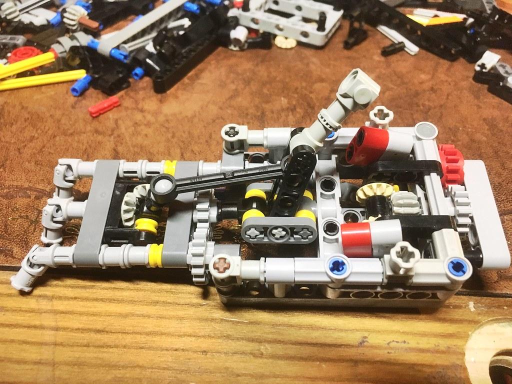 Compact joystick and rudder module