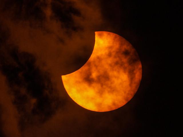 Partial Solar Eclipse 2021 June 10 - 11:02 UT