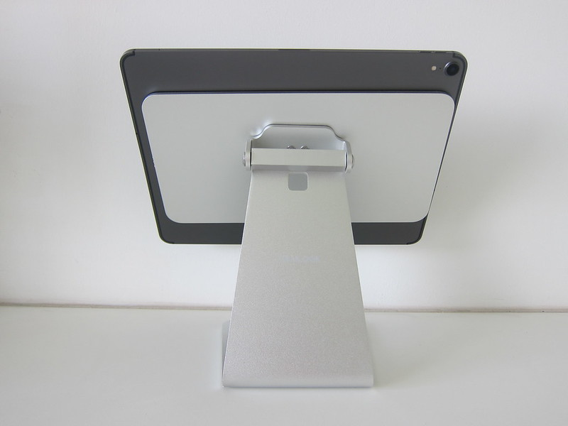 Lululook Magnetic iPad Stand - With iPad Pro 12.9 - Back