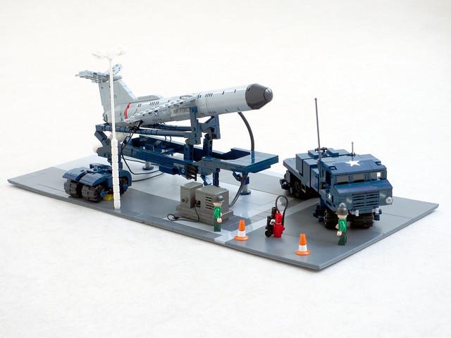 Teracruzer translauncher and Martin Mace cruise missile