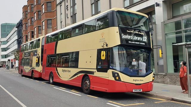 Brighton & Hove 806 (SK16 GWM) Brighton 10/6/21