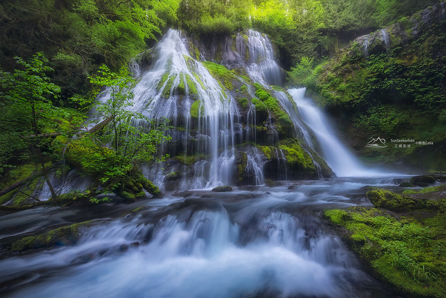 Oregon Waterfalls series #17