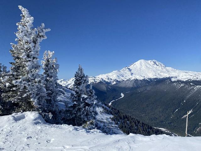 Crystal Mountain & Mt. Rainier