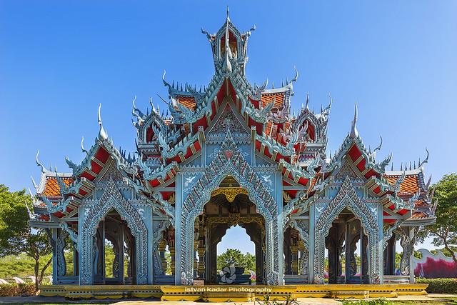 Sumeru Mountain Palace., Muang Boran, Thailand