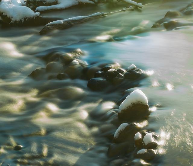 A Softly Glowing Creek