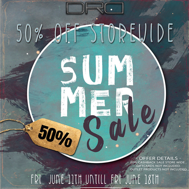 DRD annual SUMMER SALE!