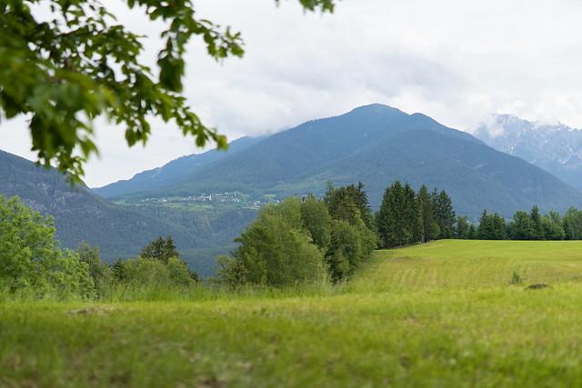 Blick von Inzing nach Reith bei Seefeld