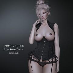 POISON ROUGE Lust Secret Corset @ Vintage Fair 2021