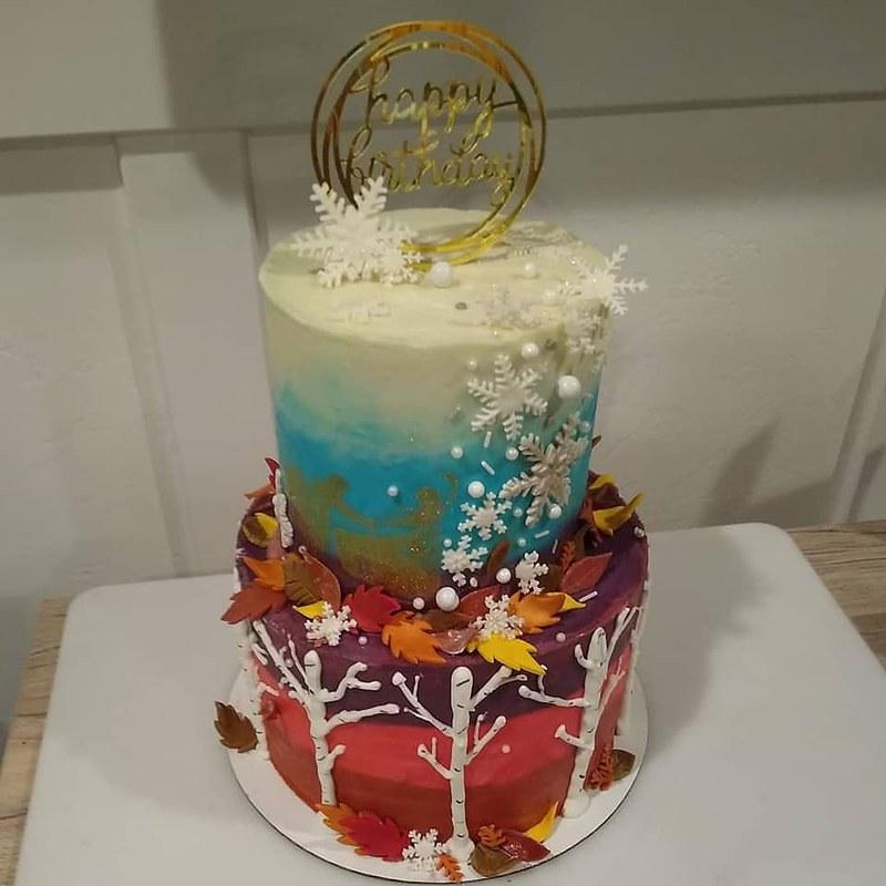 Cake by Ginger Poppy Cakes