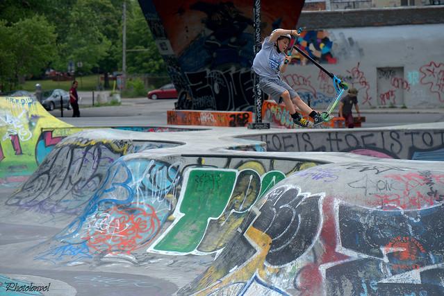 skatepark Van Horne