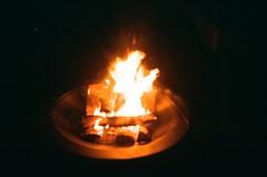 Backyard fire. 29 May 2021