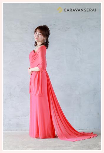 ピアニスト | 鈴木久美子さま プロフィール写真の撮影 ステージ用ドレス姿