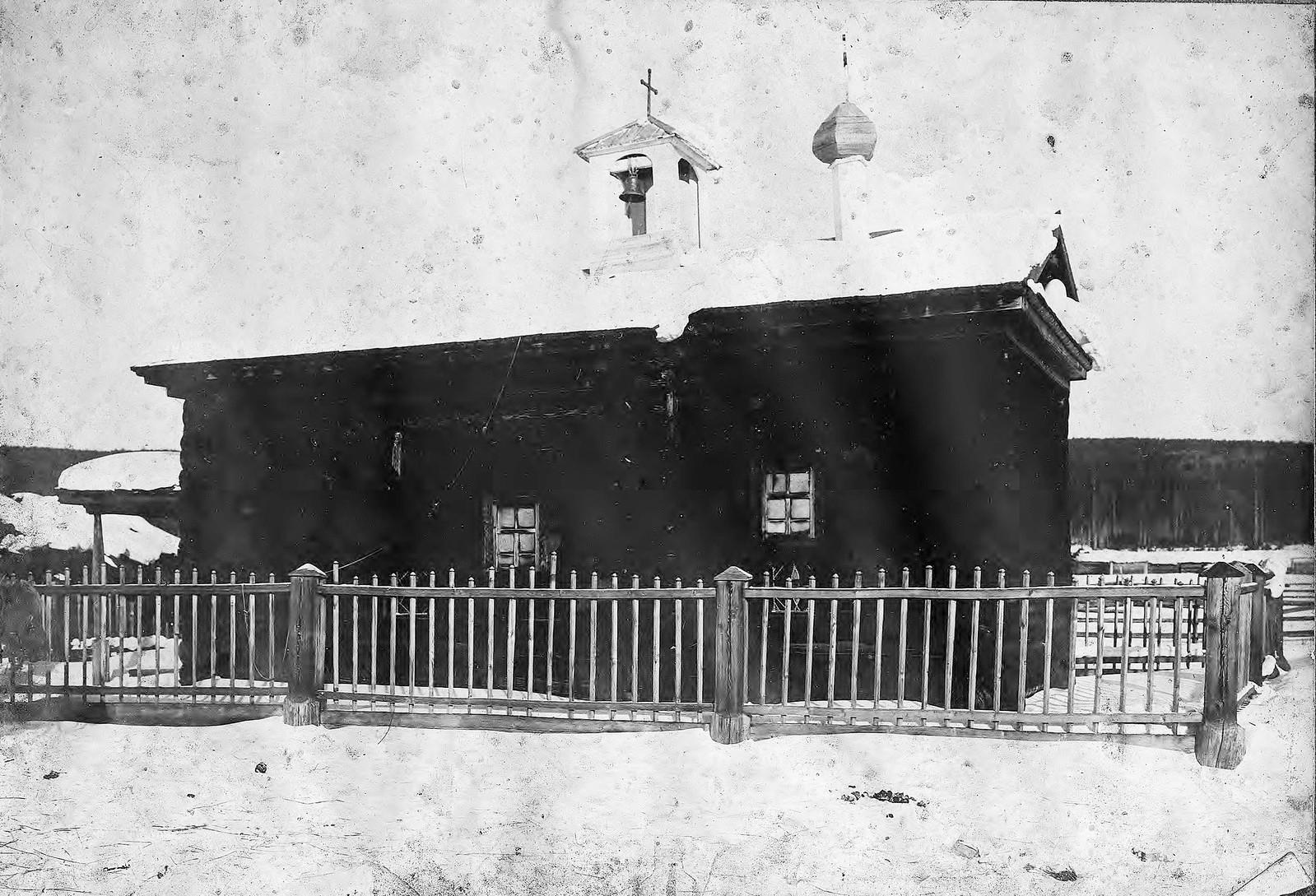 Старинная часовня в деревне Пашутиной Енисейского уезда