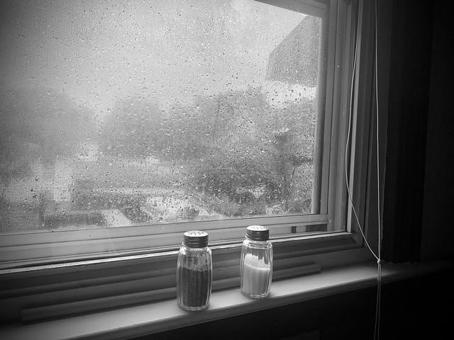 It keeps raining....