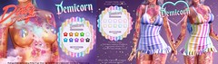 {Demicorn} Rainbow Stripes - Dirty Discounts 69L DEALS 6/11