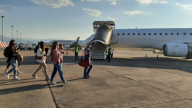 Prvi komercijalni let nove nacionalne avio-kompanije Air Montenegro