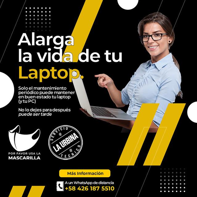 Mantenimiento de Laptop