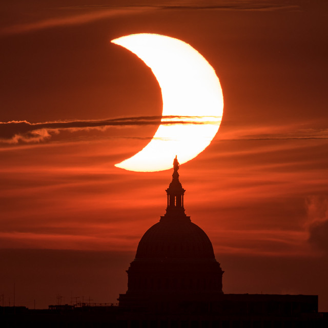Partial Solar Eclipse (NHQ202106100007)