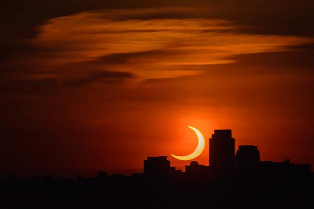 Sunrise Eclipse - 5757