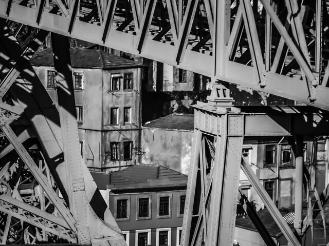 Puente D. Luis l . Oporto . Portugal